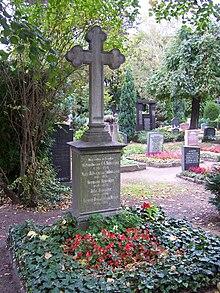 Grab von Carl Gottlieb Reißiger auf dem Trinitatisfriedhof in Dresden-Johannstadt (Quelle: Wikimedia)