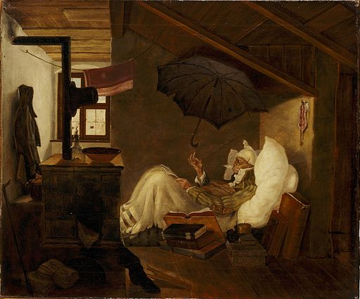 Carl Spitzweg - Der arme Poet (Germanisches Nationalmuseum)