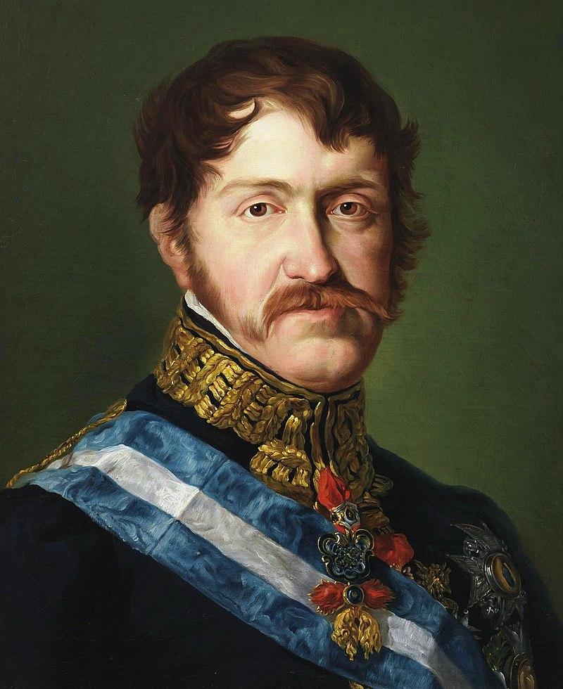 Carlos María Isidro de Borbón, hermano de Fernando VII y principal instigador y figura central del movimiento carlista