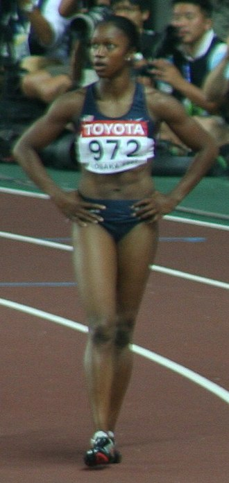 Carmelita Jeter - Jeter at the 2007 World Championships