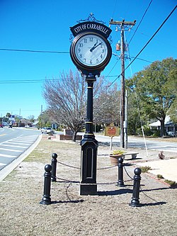 Carrabelle clock.