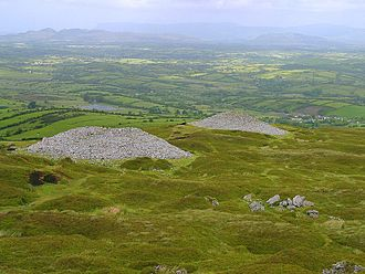 Carrowkeel Megalithic Cemetery - Two of the tombs at Carrowkeel.