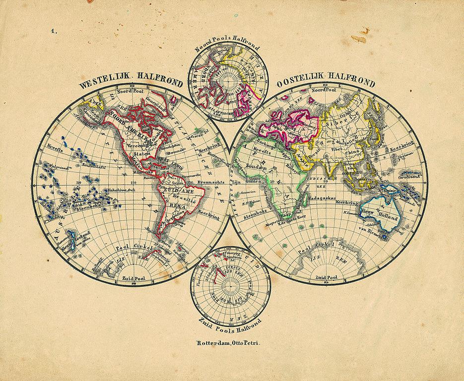 file carte du monde de 1860 jpg wikimedia commons. Black Bedroom Furniture Sets. Home Design Ideas