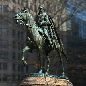 General Casimir Pulaski (statue) - Image: Casimir Pulaski statue