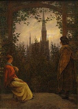 Caspar David Friedrich - Gartenlaube (1818)