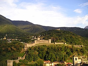 Bellinzona - Castles of Bellinzona