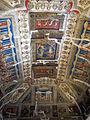 Castello estense di ferrara, int., saletta dei giochi, affreschi di bastianino e ludovico settevecchi (post 1570) 02.JPG