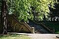Catacomb columbarium City of London Cemetery, south steps 2.jpg