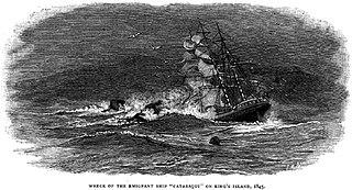 <i>Cataraqui</i> (ship) British emigrant ship wrecked in 1845