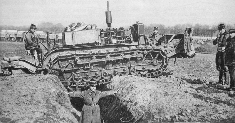 Holt based caterpillar trials, February 1916