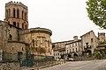 Cathédrale Saint Lizier-Chevet-20150501.jpg