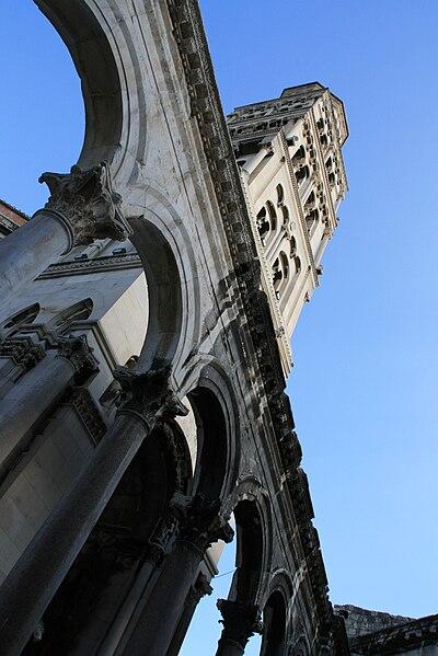 Catedral de Split. Wikimedia
