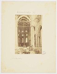 Photographie de l'intérieur de la nef de la cathédrale de Gap