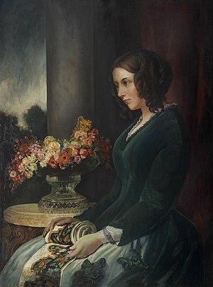 Catherine Dickens - Catherine Dickens c.1847 by Daniel Maclise