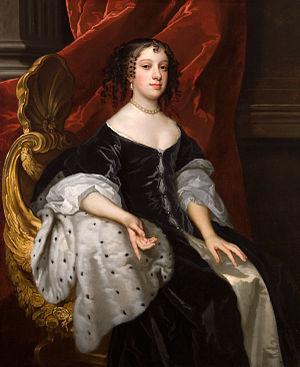 Queens - Catherine of Braganza, Queen of England.
