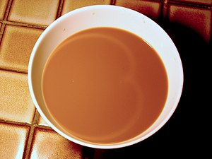 Cardioid - The caustic appearing on the surface of this cup of coffee is a cardioid.