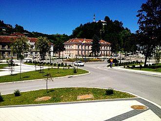 Cazin - City center square