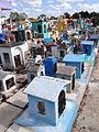Cemetery Scene - Izamal - Merida - Mexico - 02.jpg