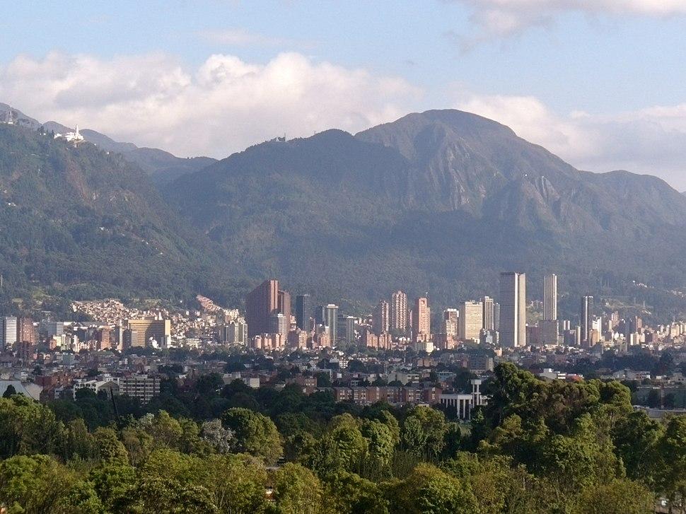 Cerros orientales Bogota