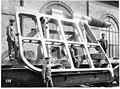 Châssis pour le gouvernail du navire Léonard de Vinci, poids 15 t - Terni - Médiathèque de l'architecture et du patrimoine - AP62T104555.jpg