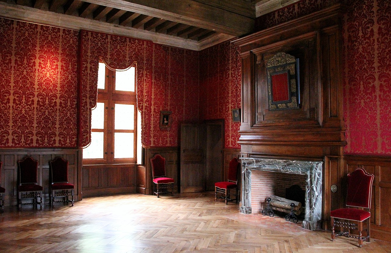 file ch teau d 39 azay le rideau salle int wikimedia commons. Black Bedroom Furniture Sets. Home Design Ideas