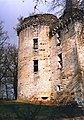 Château de l'Herm en 1985, tour d'angle.jpg