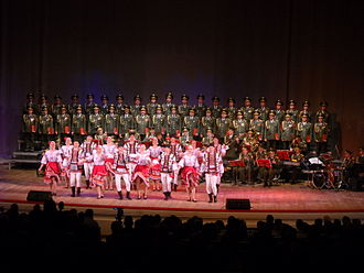 Alexandrov Ensemble - The Alexandrov Choir with Dance Ensemble, Warsaw 2009
