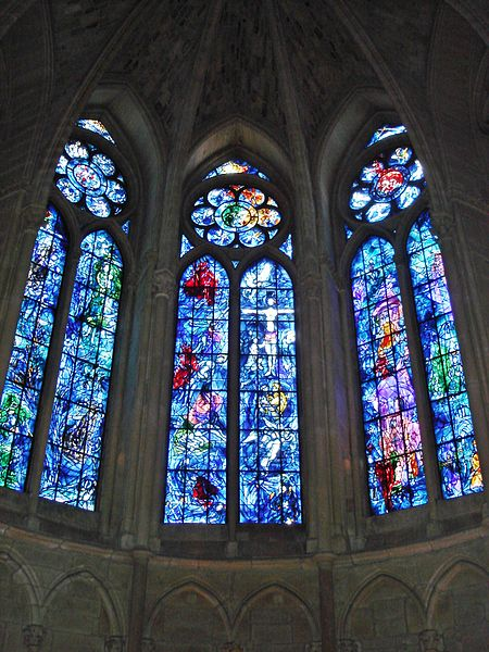 File:Chagall windows Reims Cathedral.JPG