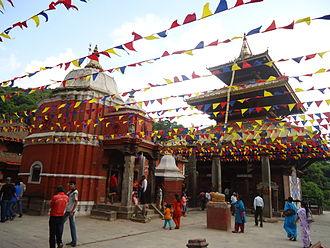 Banepa - Image: Chandeshwari Temple BA Nepa