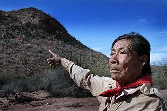 Seri people - Chapito, a Seri shaman from Punta Chueca, Sonora