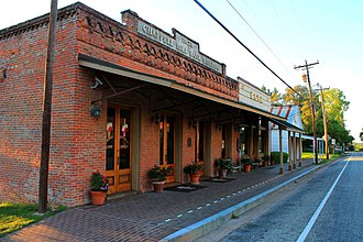 Chappell Hill, Texas - Image: Chappell Hill Main Street 10