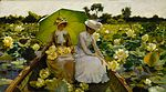 Charles Courtney Curran - Lotus Lilies.jpg