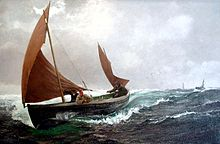Charles Napier Hemy - Running For Home.jpg