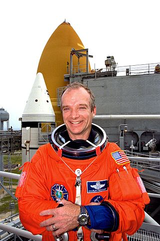 Astronaut Charlie Precourt, NASA photo (7 May 1998)Source: Wikipedia (www.jsc.nasa.gov page unavailable June 2019) 320px-Charles_Precourt_KSC39A.jpeg