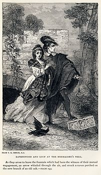 Charles Robert Leslie - Sir Walter Scott - Ravenswood and Lucy at the Mermaiden's Well - Bride of Lammermoor.jpg