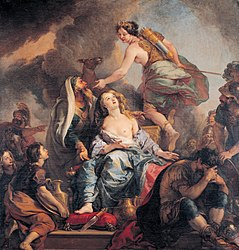 Charles de La Fosse: The Sacrifice of Iphigenia