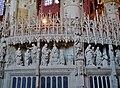 Chartres Cathédrale Notre-Dame de Chartres Innen Chorschranke 07.jpg
