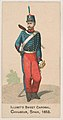 Chasseur, Spain, 1853, from the Military Series (N224) issued by Kinney Tobacco Company to promote Sweet Caporal Cigarettes MET DPB874322.jpg