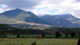 Rif - A view of the Rif mountains around Chefchaouen.