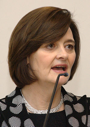 Chancellor of Liverpool John Moores University - Image: Cherie Blair in Trento