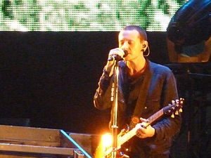 Chester Bennington - Bennington performing in 2010