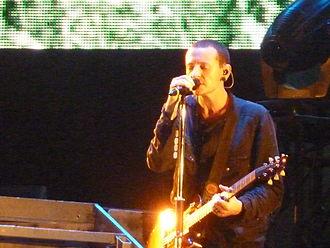 Chester Bennington - Bennington performing in 2010