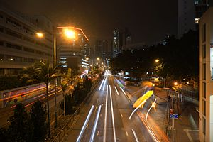 Cheung Sha Wan Road at night.jpg