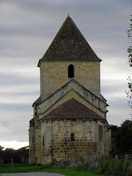 Église Saint-Étienne de Jaugenay, commune de Chevenon (58).