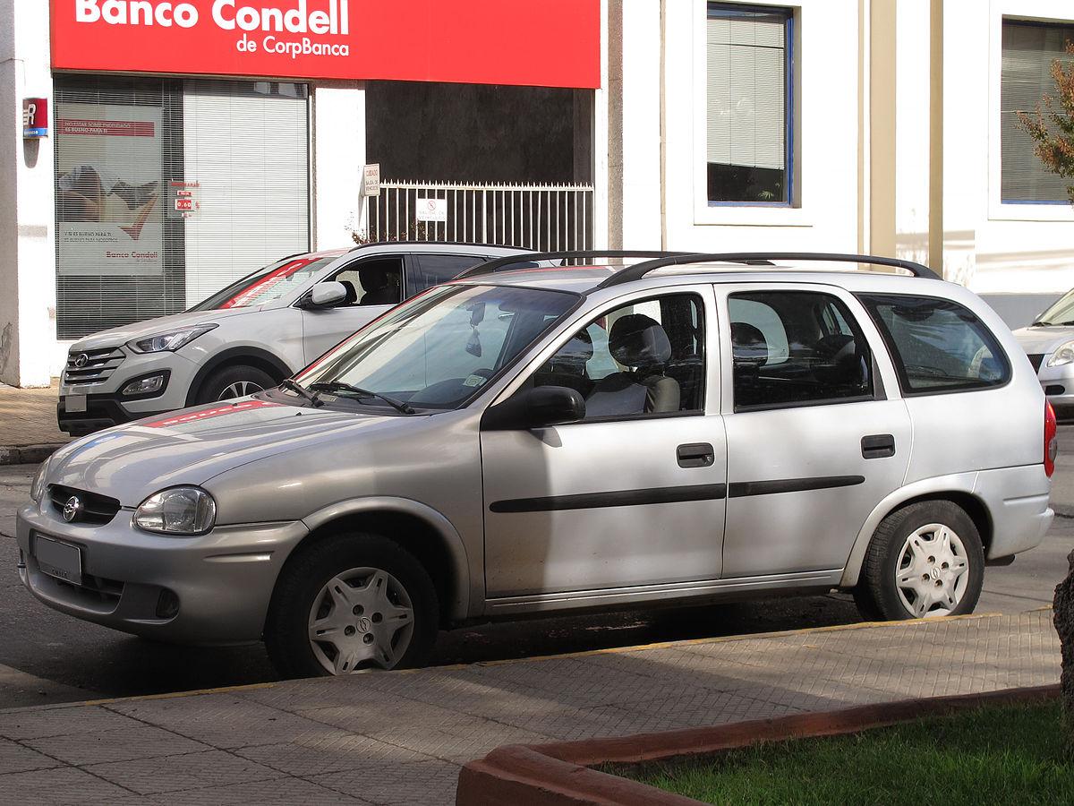 Chevrolet Corsa Wagon Wikip 233 Dia A Enciclop 233 Dia Livre