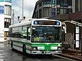 Chiba Nairiku Bus 1173 at Yotsukaido Station.jpg