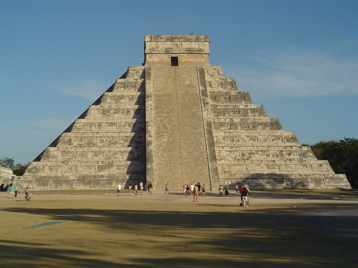 File:Chichen Itza pyramid.jpg