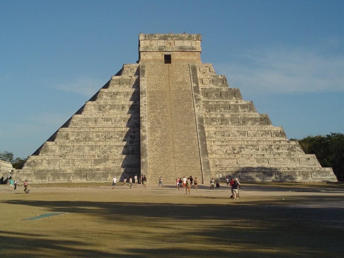 File:Chichen Itza pyramid.jpg