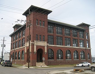 National Register of Historic Places listings in Orleans Parish, Louisiana - Image: Chiclets Factory Fig Dante Jan 2010