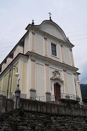 Malegno - Parish Church of St. Andrew (new church).